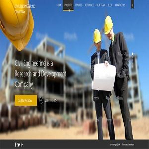 طراحی وب سایت عمرانی