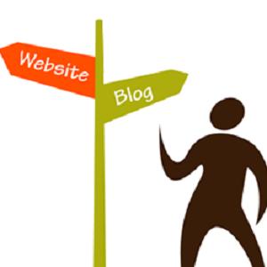 تفاوت وبلاگ و وب سایت