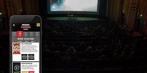 طراحی سایت سینما