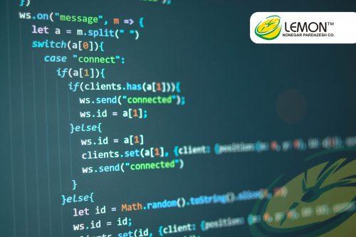نمونه کد طراحی سایت